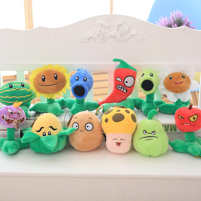 Plants VS. Zombies Soft Stuffed Plush Animal Doll for Kids Gift