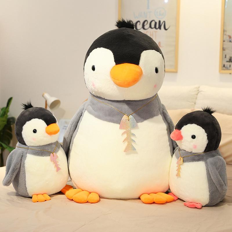 Cute Penguin Soft Stuffed Plush Animal Doll for Kids Gift