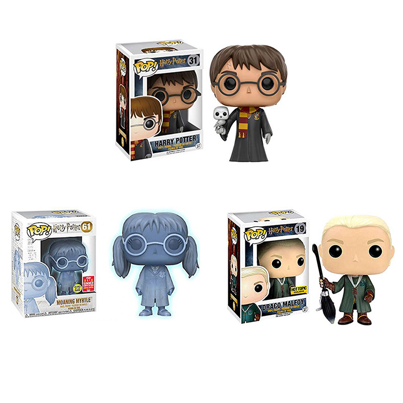 Harri Potter Malfoy Moaning Myrtle Limited Edition Dolls Figure Model Toys For Gift