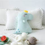 Cute Crown Dinosaur Soft Stuffed Plush Animal Doll for Kids Gift