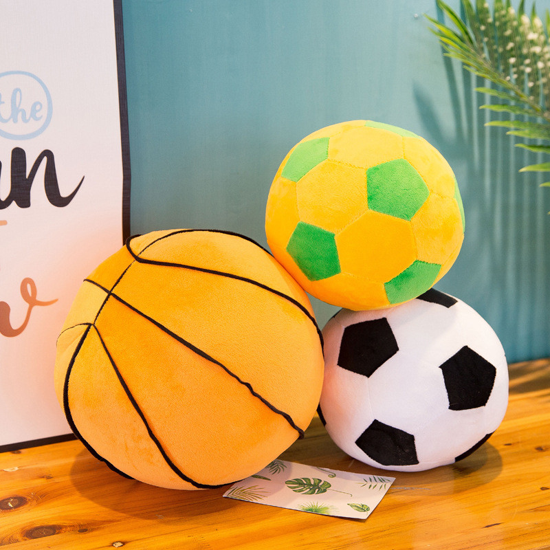 Basketball Soft Stuffed Plush Animal Doll for Kids Gift