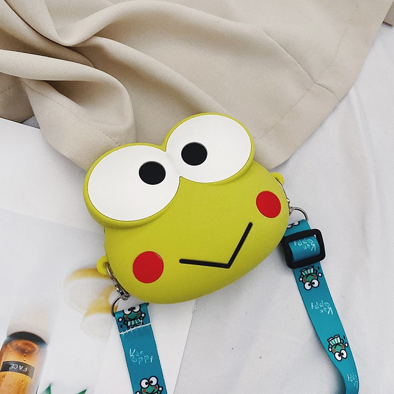 Cute Cartoon Mikyo Silicone Mini Single Shoulder Bag