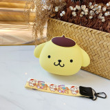 Cute Cartoon Dog Silicone Mini Single Shoulder Bag