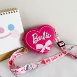 Cute Cartoon Heart-shaped Silicone Mini Single Shoulder Shoulder Bag