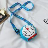 Cute Cartoon Doraemon Silicone Mini Single Shoulder Bag