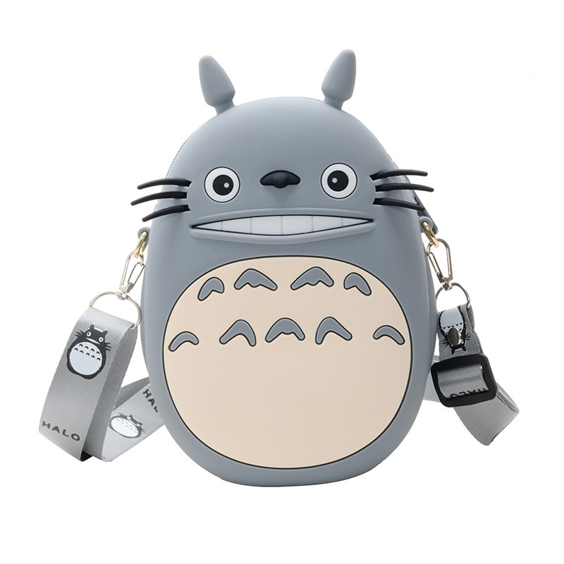 Cute Cartoon Totoro Silicone Mini Single Shoulder Bag