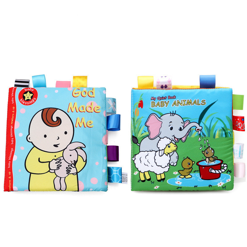 Baby's First Story Cloth Book Baby Animals