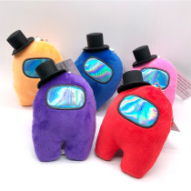 Among Us Plush Toy Hat Merch Soft Stuff Animal Figures Cute Astronaut Crewmate Plushies for Gifts Game Fans