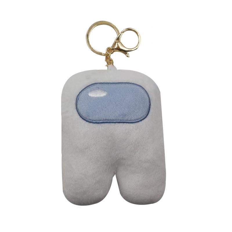 Plush Stuff Animal Plushies Astronaut Toys Pendant Key Ring Among Us Merch Crewmate Plushie Gifts for Game Fans