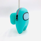 Among Us Plush Toy Silicone Storage Bag Merch Soft Stuff Animal Figures Cute Astronaut Crewmate Plushies for Gifts Game Fans