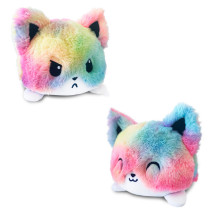 The Original Reversible Cats Patented Design Soft Stuffed Plush Animal Doll for Kids Gift