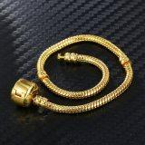 Women's 3mm Snake DIY Pure Chain Charm Jewelry