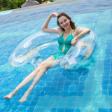 Sequin Inflatable Deck Chair Swimming Floating Row