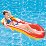 Inflatable Net Deck Chair Swimming Floating Row For Kids Child Adults
