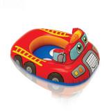 Toddler Kids Inflatable Bulldozer Fire Engine Excavating Machinery Sitting Swimming Ring