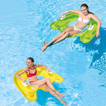 U-shaped Reclining Chair Inflatable Sitting Floating Swimming Ring