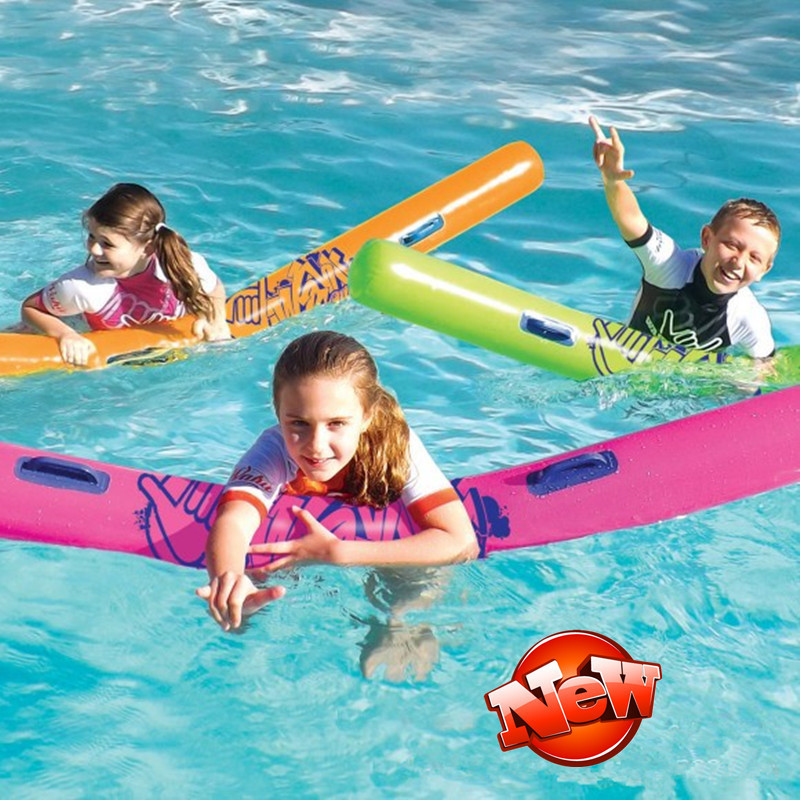 Three Dimensional Cylindrical PVC Floating Mattress Swimming Floating Row