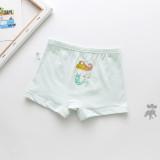 Kid Girls 5 Packs Prints Mermaid Princess Boxer Briefs Cotton Underwear