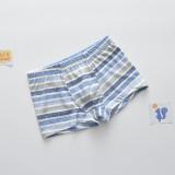 Kid Boys 5 Packs Print Bear Plaids Stripes Boxer Briefs Cotton Batman Underwear