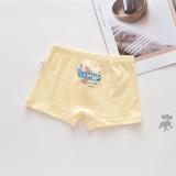 Kid Boys 5 Packs Print Rocket Car Boxer Briefs Cotton Underwear