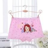 Kid Girls 4 Packs Sofia Princess Boxers Brief Cotton Underwear