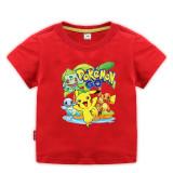 Toddle Boys Print Pikachu Cotton T-shirt