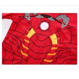 Toddler Boy Red Print Marvel Iron Man Pajamas Sleepwear Long Sleeve Tee & Leggings 2 Pieces Sets