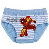 Kid Boys 5 Packs Iron Man Captain America Brief Cotton Underwear