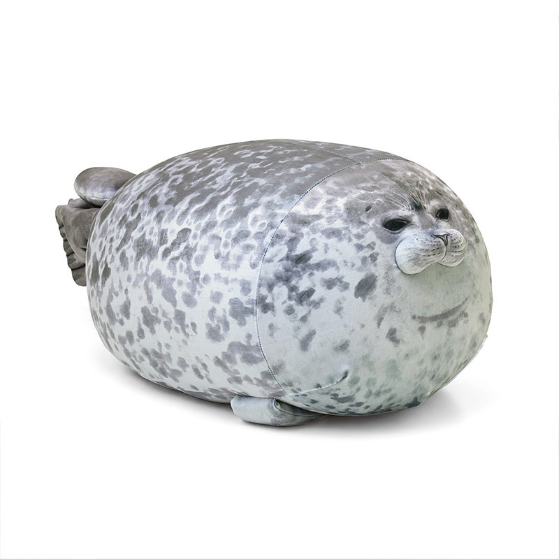 Chubby Blob Animals Seal Pillow Stuffed Plush Dolls for Kids Gift
