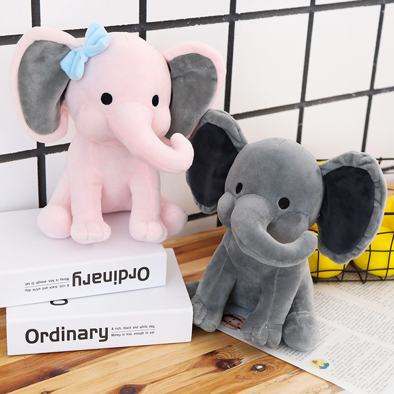 Elephant Animal Stuffed Plush Dolls for Kids Gift