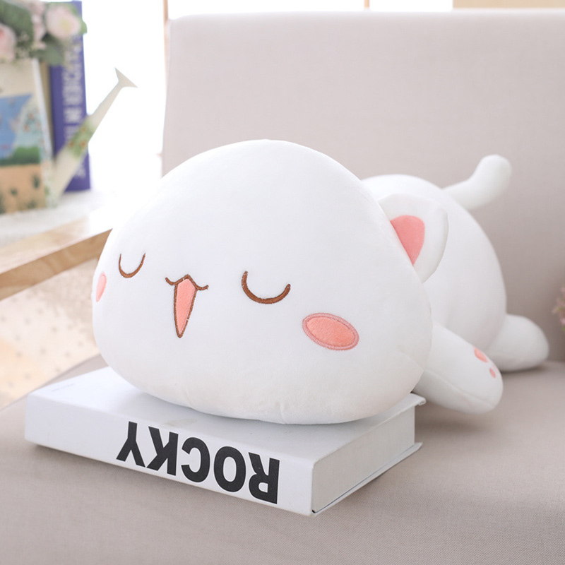 Cute Laugh Cat Pillow Stuffed Plush Dolls