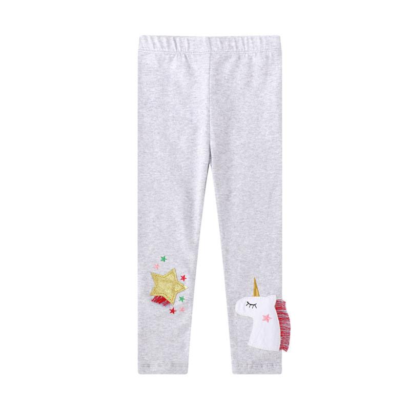 Toddler Kid Girl Print Unicorn Stars Cotton Leggings Pants
