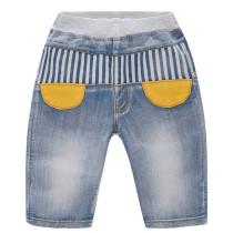 Toddler Boys Print Striped Denim Summer Shorts