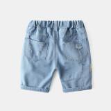 Toddler Boys Ripped Denim Denim Shorts Pants