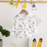 Toddler Kids Girl Print Rainbows Unicorns Coke Breathable Lightweight Sunscreen Outerwear Coats
