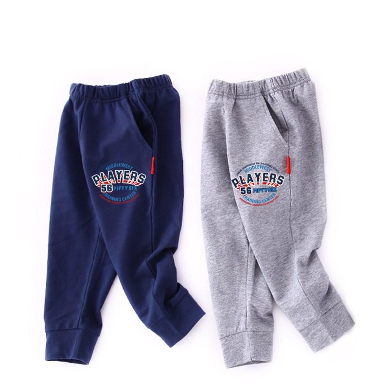 Toddler Boy Print Baseball Jogger Cotton Pants