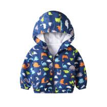 Toddler Kids Boy Print Dinosaurs Outerwear Coats