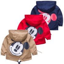 Toddler Kids Boy Mickey Mouse Hooded Jacket Outerwear