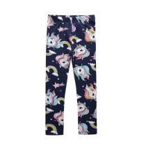 Toddler Kid Girl Print Rainbow Unicorn Stars Cotton Leggings Bottoms
