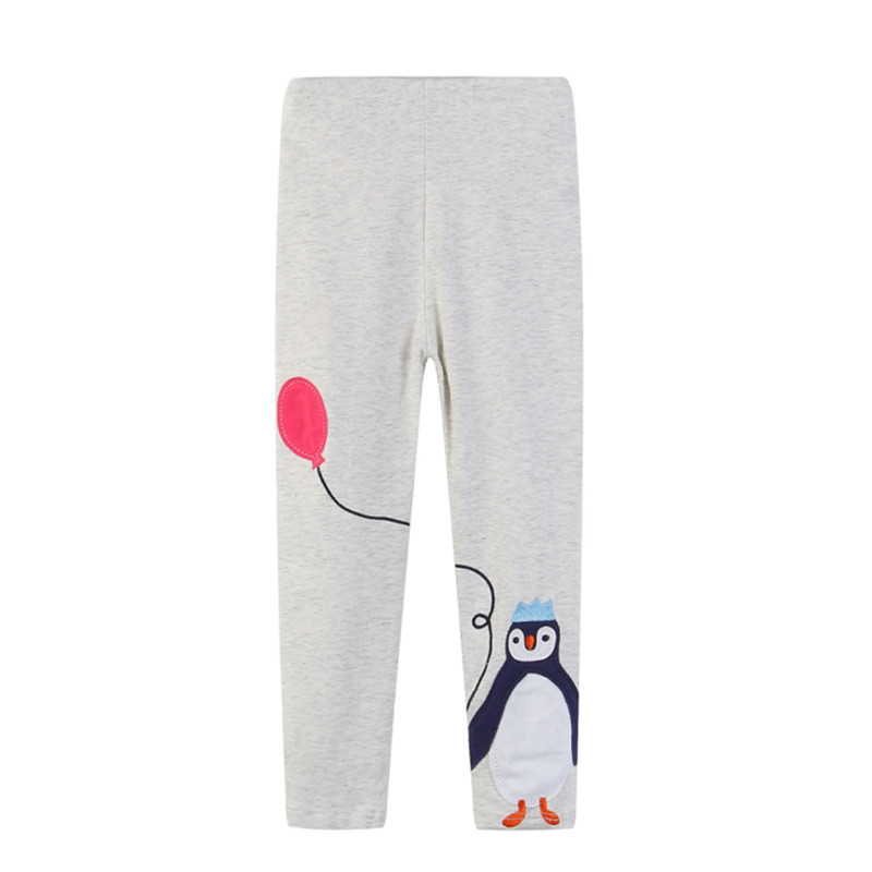 Toddler Kid Girl Print Penguin Balloon Cotton Leggings Pants
