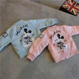 Toddler Kids Boy Mickey Back Bomber Jacket Outerwear