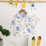 Toddler Kids Girl Print Bears Breathable Lightweight Sunscreen Outerwear Coats