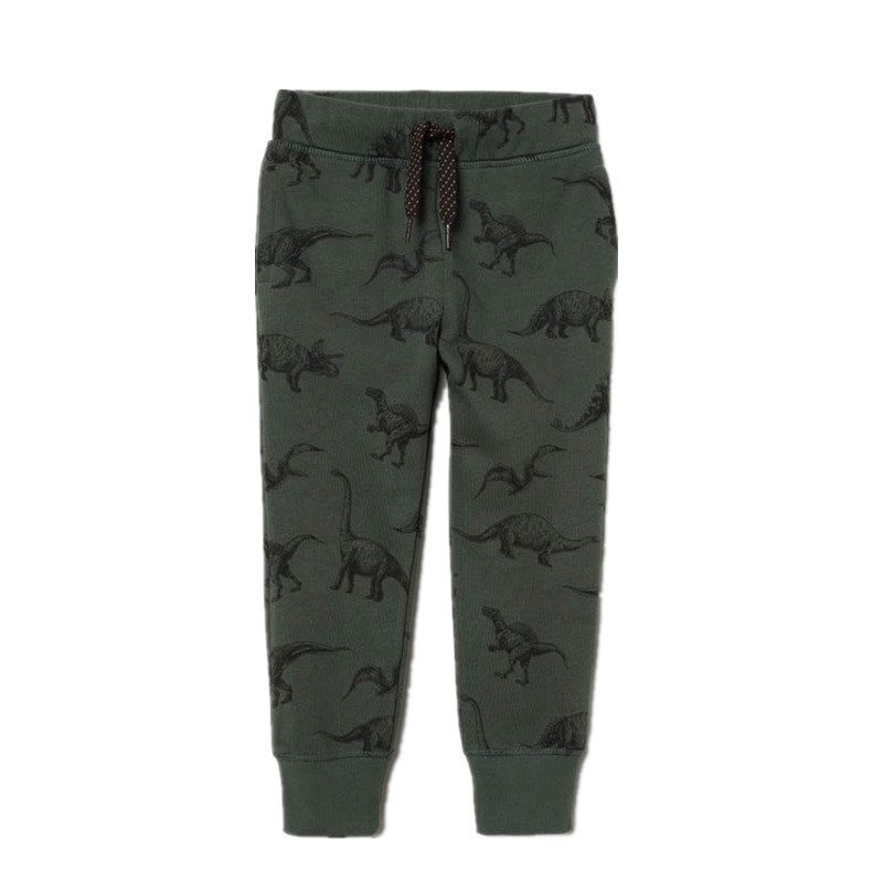 Toddler Boy Army Print Dinosaurs Casual Cotton Pants