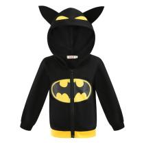 Toddler Kids Boy Marvel Superhero Bat Man Hooded Outerwear Coats