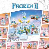 Ceative Play Mini Building Blocks Frozen Alsa 8PCS Sets Toys Kids 6+ Girls Gifts