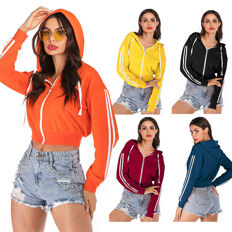 Women Hooded Sports Short Ourterwear