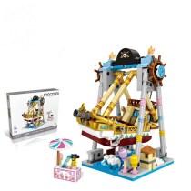Ceative Play Mini Building Blocks Amusement Park Toys Kids 6+ Boys Girls Gifts