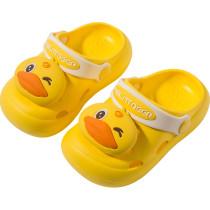 Toddlers Kids 3D Cartoon Duck Beach Home Summer Slippers