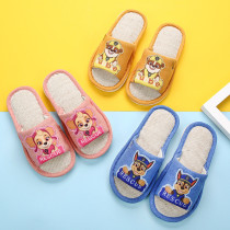 Toddlers Kids PAW Patrol Fiberflax Summer Home Cotton Slippers