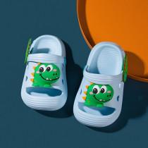 Toddlers Kids 3D Cartoon Dinosaur Beach Home Summer Slippers